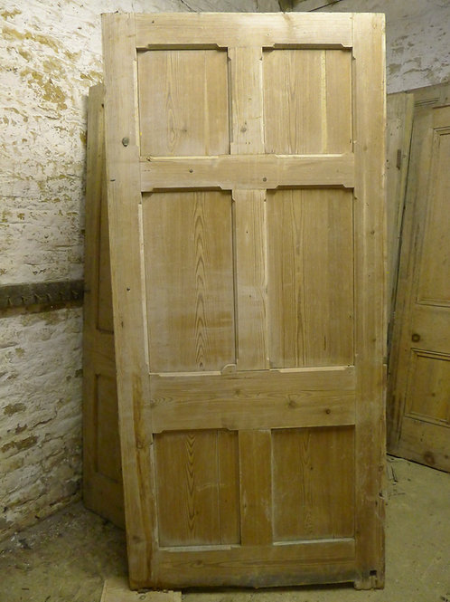 Victorian Pitch Pine Door