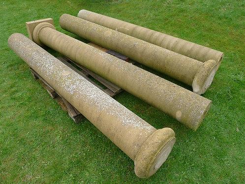 Reconstituted Stone Doric Columns