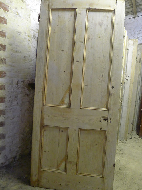 Fine Victorian Four Panel Door