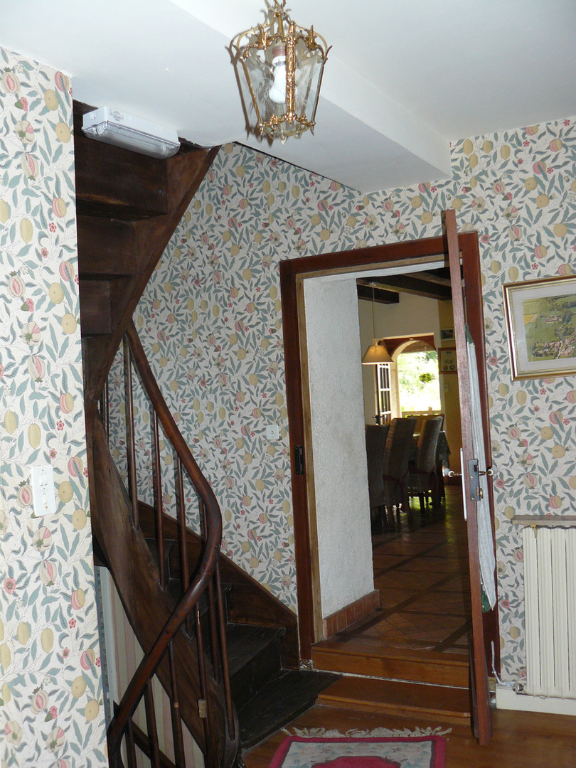 Hallway off kitchen