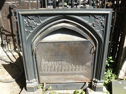 Steel Fireplace Insert