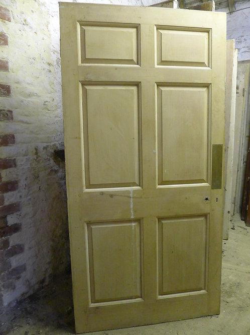 Six Panel Georgian Style Door