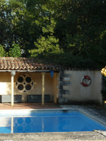 Les Amandiers swimming pool