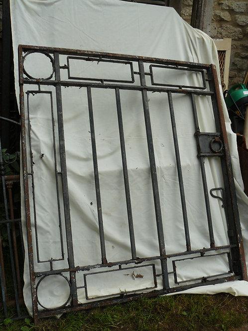 Art Deco Steel Gate