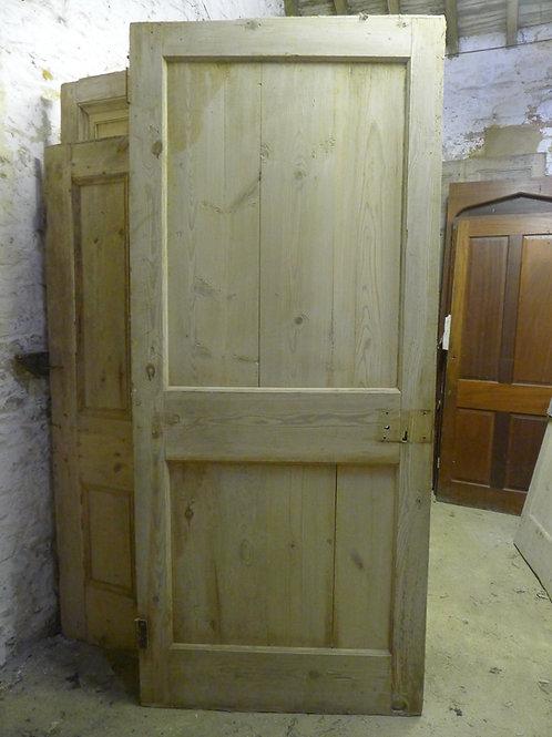 Large Two Panel Early Georgian Door