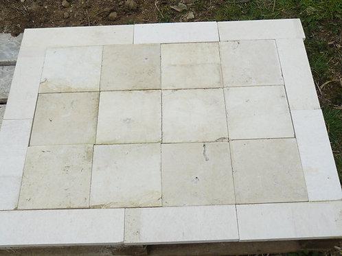 Limestone Flooring With Borders