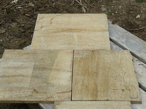 Brown Veined Limestone Slabs