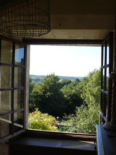 Balcony Dordogne view