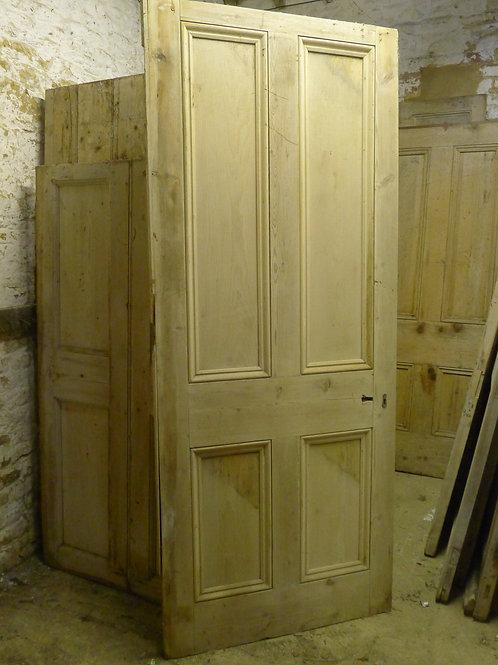 Pine Door with Beading
