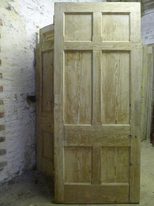 Mid Victorian Gothic Pitch Pine Door