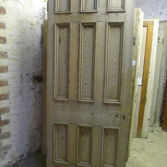 Early Victorian pitch pine door
