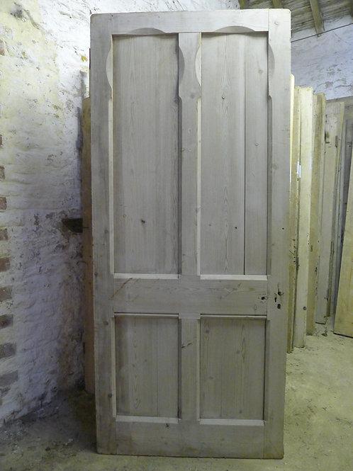 Victorian Gothic Four Panel Door