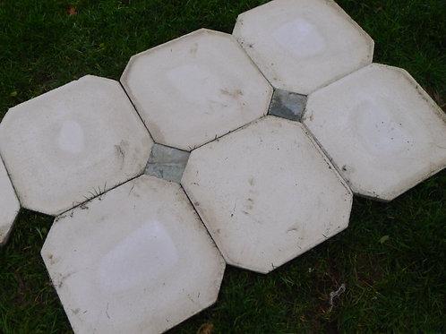Reconstituted Stone Carbochon Flooring