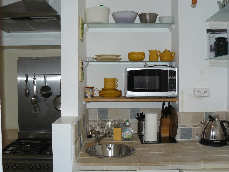 Kitchen Lakeside Apartment