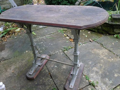 Early Victorian Gothic Garden Table