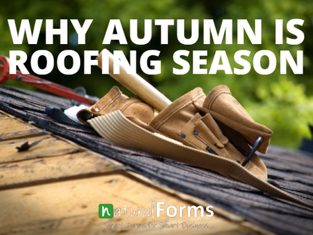 Why Autumn is Roofing Season