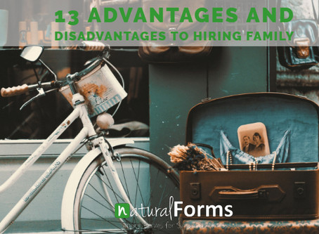 13 Advantages and Disadvantages to Hiring Family