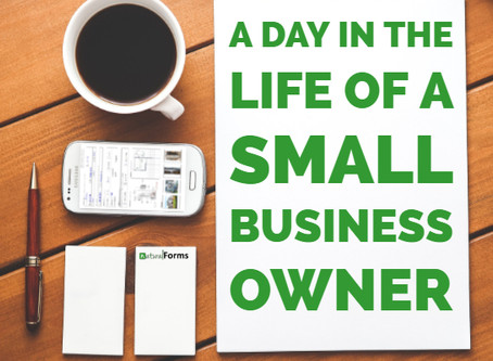 A Day In The Life of a Small Business Owner