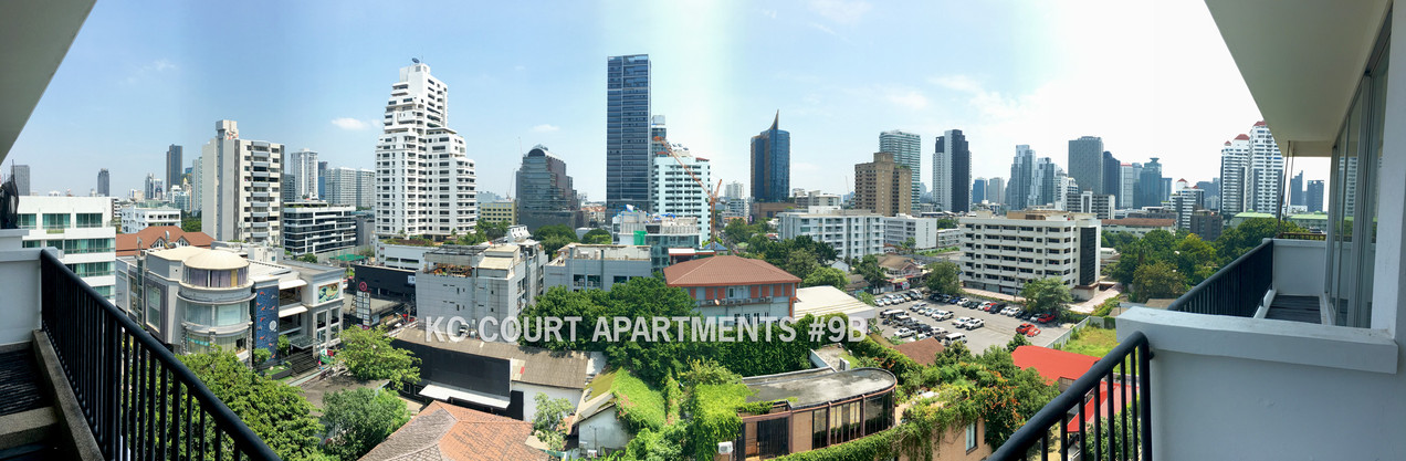 Panoramic views from the Balcony