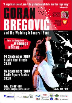 Goran Bregovic Material, 2007