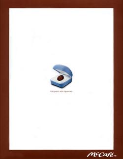 McCafe Magazine Ad, 2002
