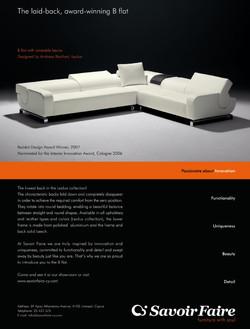 Leolux B-Flat Advert, 2007