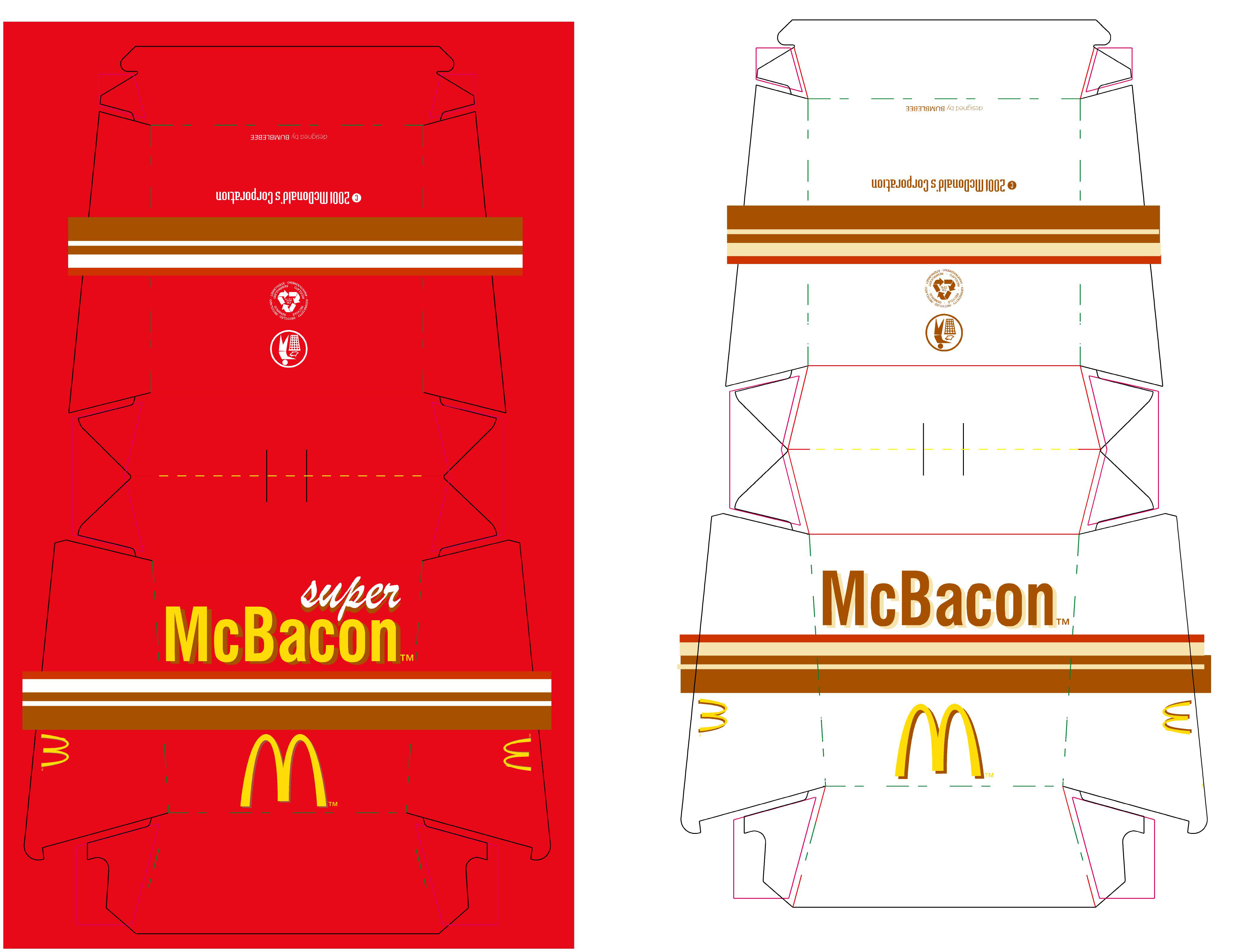 McBacon Packaging, 2004