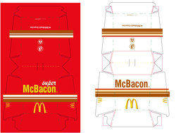 McBacon Packaging, 2004