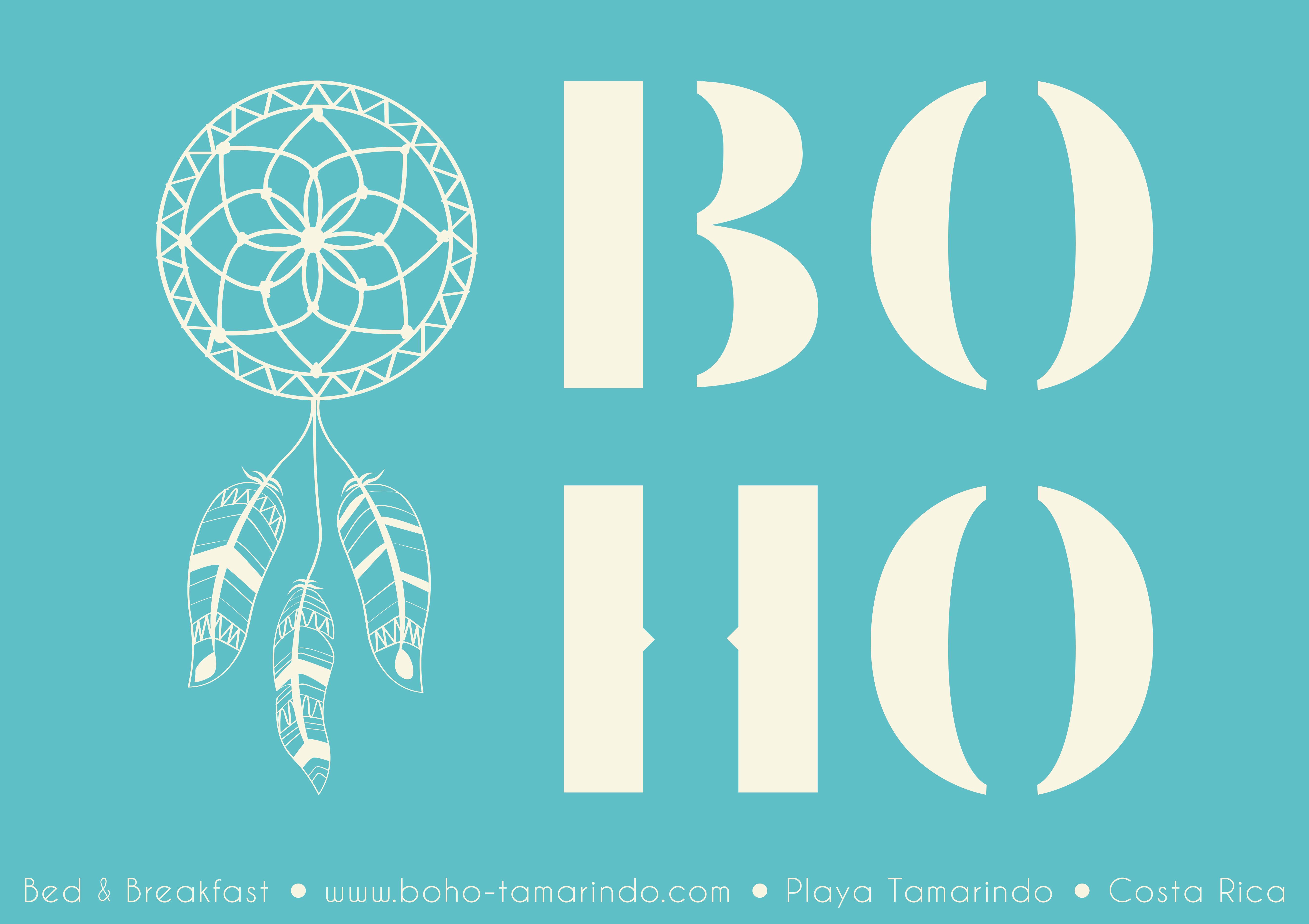 Visit Card BoHo Tamarindo Costa Rica