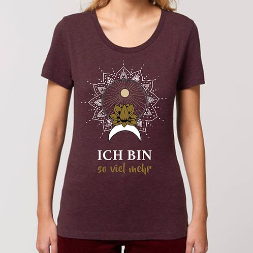 ICH BIN - Girlie-Shirt