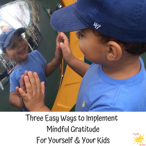 Three Easy Ways to Implement Mindful Gratitude - for yourself and your kids!
