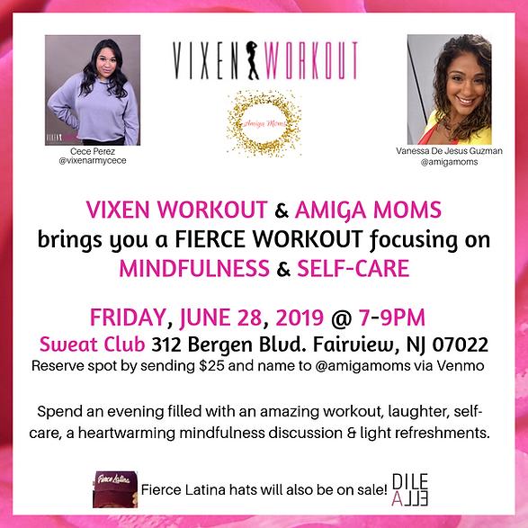 Invite all Fierce Women to a VIXEN ARMY