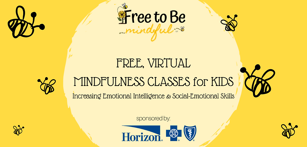 Free to Be Mindful Virtual Class Website
