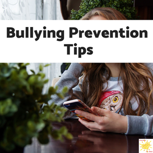 Bullying Prevention Tips