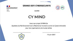 CY MIND Lauréat Grand Défi Cyber