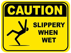 Slips, trips and falls account for almost a third of non fatal injuries at work.  It is a widely held belief that with just a few minor changes to working practices and attitudes this could be reduced significantly.