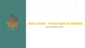 India story - From here to where?
