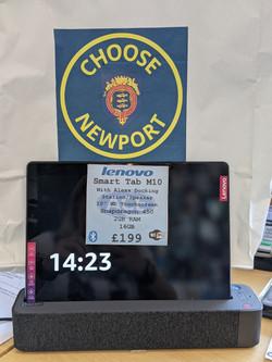 Lenovo 2in1 Smart Tab M10 £199