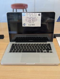 MacBook Pro £299