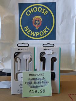 MUSTHAVZ Wireless Earbuds £19.99