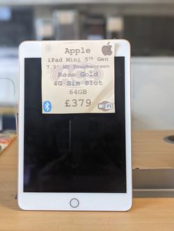 iPad Mini 5th £379
