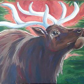 Red Sky Elk
