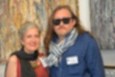 Nick Maslov et Monique Ricour a Cannes