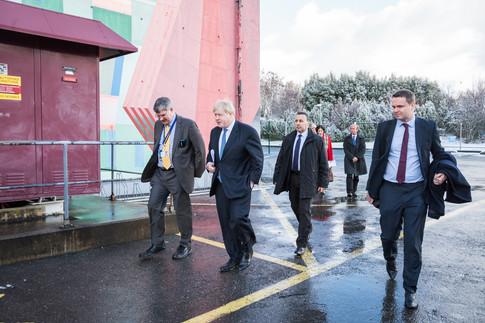Boris Johnson at CERN