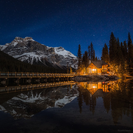Starry Nights at Emerald Lake