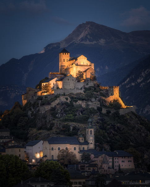The Valère Castle in Sion