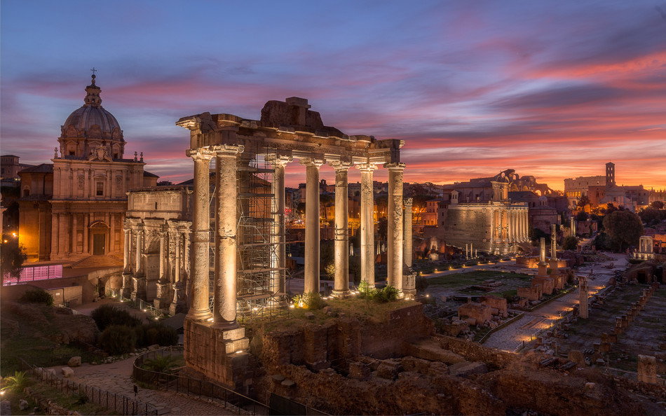 Early Morning Light at the Roman Forum