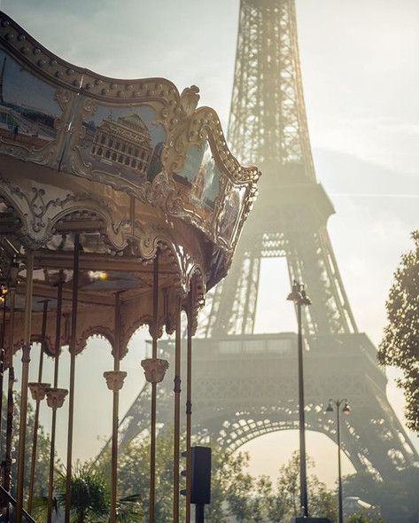 Parisian Details in the Morning Light