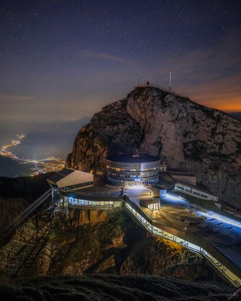 Starry Nights on Mount Pilatus
