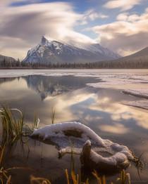 Morning Light at Vermillion Lakes